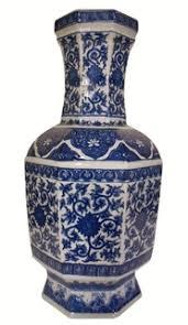 Chinese Blue And White Vase Chinese Porcelain Vases Oriental Furnishings
