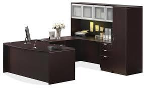U Office Desk U Shape Office Desk Suite Whutch 72inch X 113inch For Shaped