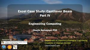 two way data table excel excel case study cantilever beam part 4 two way data table youtube