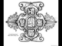 mayan symbol signs and meaning mayan zodiac tattoos are very
