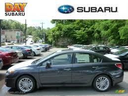 grey subaru impreza 2013 dark gray metallic subaru impreza 2 0i limited 4 door