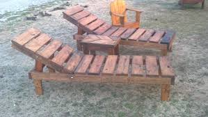 Diy Chaise Lounge Reclaimed Pallet Wood Chaise Lounge Chairs Adjustable With
