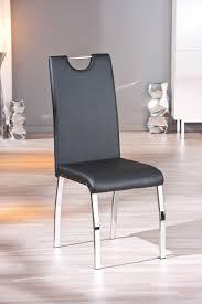 chaises design salle manger chaise design de salle à manger coloris noir lot de 2 ushuaya