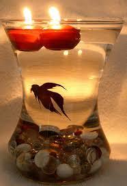 wedding centerpiece ideas fish bowls steel city bride a