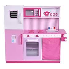 kinderk che holz rosa ᐅ costway kinderküche spielküche kinderspielküche spielzeugküche