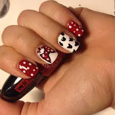 disney mickey mouse nail art tutorial youtube