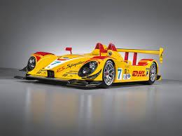 porsche spyder yellow porsche rs spyder in penske dhl livery porsche race cars