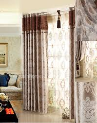 Brown And Ivory Curtains Curtains Windows And Doors Accessories Ideas With Energy