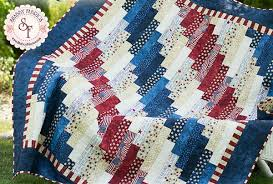 standing strong patriotic jellyroll quilt u2013 free pdf pattern from