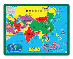 usa map puzzle for toddlers asia the continent puzzle children s puzzles puzzlewarehouse