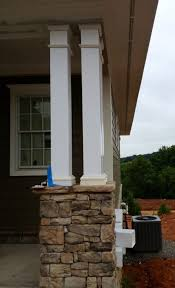 bathroom pillars for house front porch columns designs the cedar