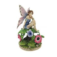 anemone linda ravenscroft fairy statue protection fairy faeries