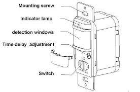 110v 220v on off auto wall mount motion sensor switch automatic
