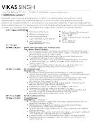 mesmerizing resume templates for software project manager for