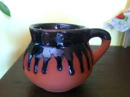 handmade mugs pottery coffee mugs handmade mexican cup clay mug with drip glaze