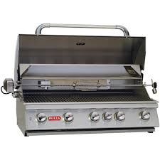 Backyard Grill 5 Burner by Bull Brahma 38 Inch 5 Burner Built In Natural Gas Grill With