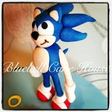 sonic the hedgehog cake topper edible sonic the hedgehog cake topper cake
