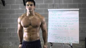 home workout ripped chest back arms and