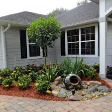 Elevated Front Yard Landscaping - astonishing affordable landscaping ideas front yard pics