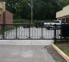 sliding gates the american fence company