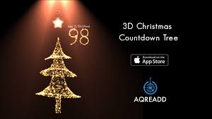 3d christmas countdown tree for iphone 6 iphone 6 plus iphone 5s