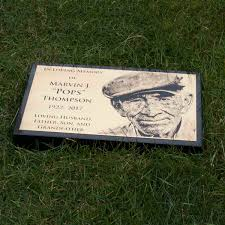 grave plaques custom bronze markers and bronze memorial plaques for
