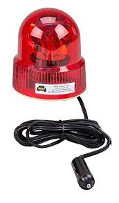12 volt red led lights wolo 3110 r beacon light rotating emergency warning light 12