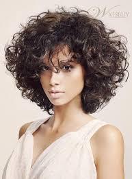 wigs medium length feathered hairstyles 2015 fashion trendsetting fluffy medium curly bob hairstyle 150 heavy