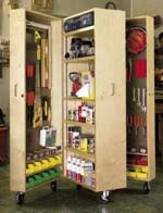 Tool Cabinet On Wheels by Rolling Storage Cabinet Woodworking Plans And Information At