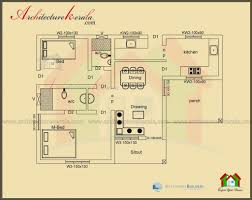 simple three bedroom house plan house plan crafty 1000 sq ft house plans 3 bedroom kerala style 2