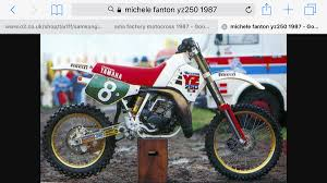 motocross races uk michele fanton yz 250 1987 old moto motocross forums