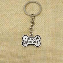 In Memory Of Keychains Popular Dog Bone Keychain Buy Cheap Dog Bone Keychain Lots From