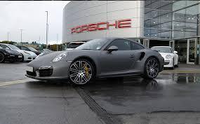 gray porsche 911 porsche 911 wrapped in matte grey reforma uk