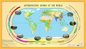 Map Maker Free Human Habitat Maps Of Anthropogenic Biomes Free Association Design