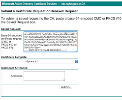 using ad signed certificates with vcenter server appliance 6