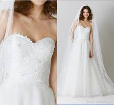 discount perfect wedding dressess sweetheart neckline a line sweep
