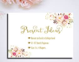 Gift Card Bridal Shower Bridal Shower Registry Card The Bride To Be Printable