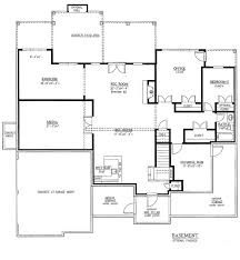 5 Bedroom House Plans With Basement by Traditional Style House Plan 5 Beds 4 50 Baths 3187 Sq Ft Plan