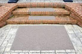 dean premium indoor outdoor carpet non skid stair treads and mat