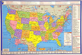 us states detailed map us states detailed map