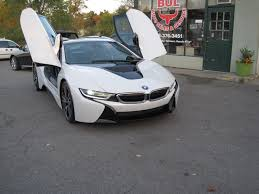 Bmw I8 Doors Open - 2014 bmw i8 tera world package crystal white metallic with frozen