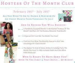 month clubs hostess of the month clubs beard
