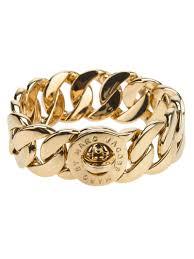 bangle bracelet ebay images Lyst marc by marc jacobs 39 katie link 39 bracelet in metallic jpeg