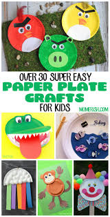 over 30 easy paper plate crafts for kids momerish