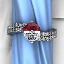 pokeball engagement ring the trainer s ring