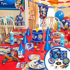 sonic party supplies sonic party decorations sonic the hedgehog party supplies