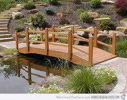 Backyard Bridge Stylish Backyard Bridge Ideas Garden Decors