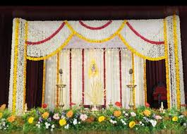 mandap decorations wedding reception decorators in pondicherry chennai tamilnadu