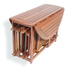 Folding Table With Chairs Stored Inside Wood Folding Table And Chairs Costco Dining Stored Inside