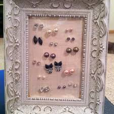 earring holder for studs 55 earrings holder diy simple earring holder sugar bee crafts